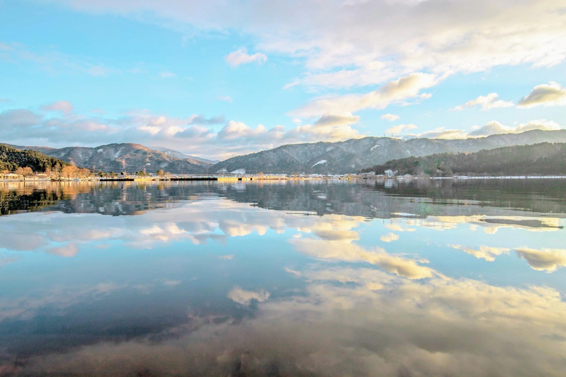 湖北エリア一帯を周遊|日本のウユニ塩湖余呉湖からスタートするモデルコース
